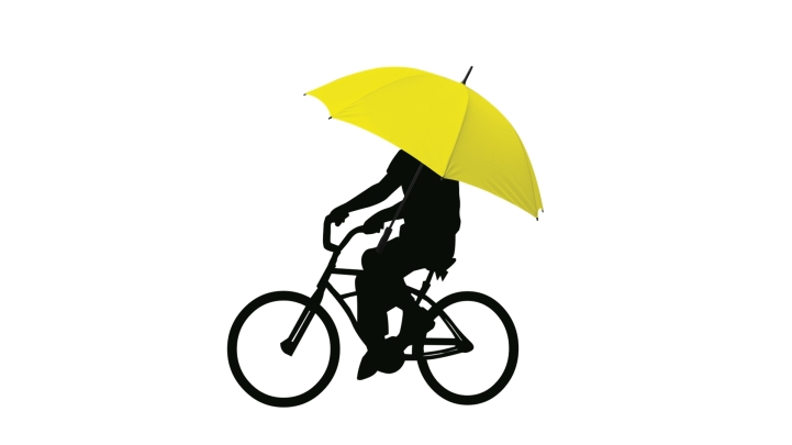 lluvia bici benidorm