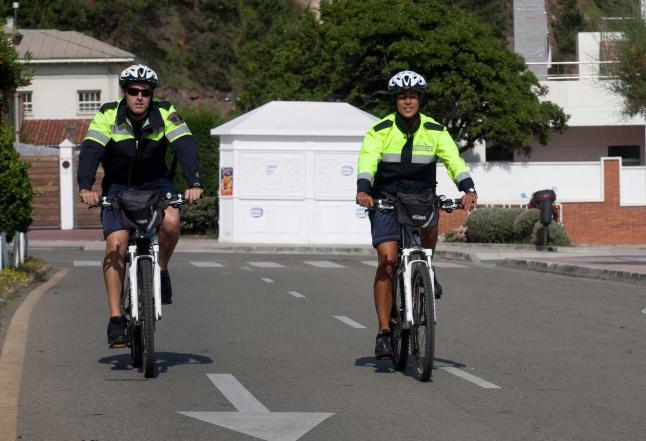 asturias policia bici