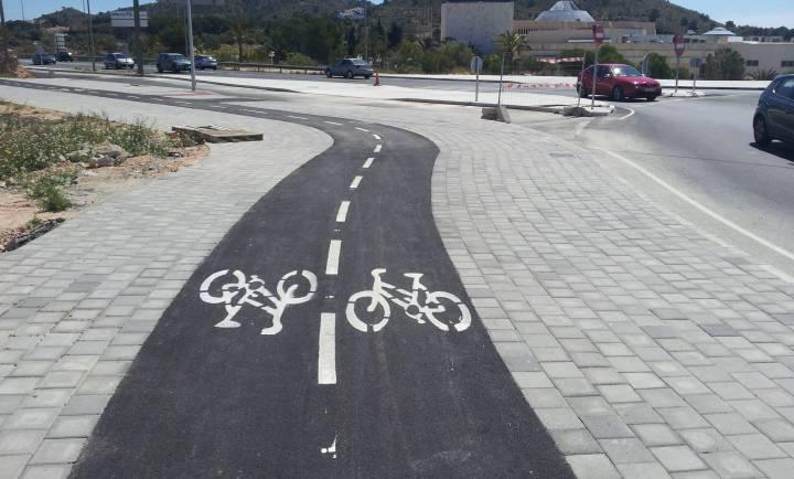 Acera bici Villajoyosa 2