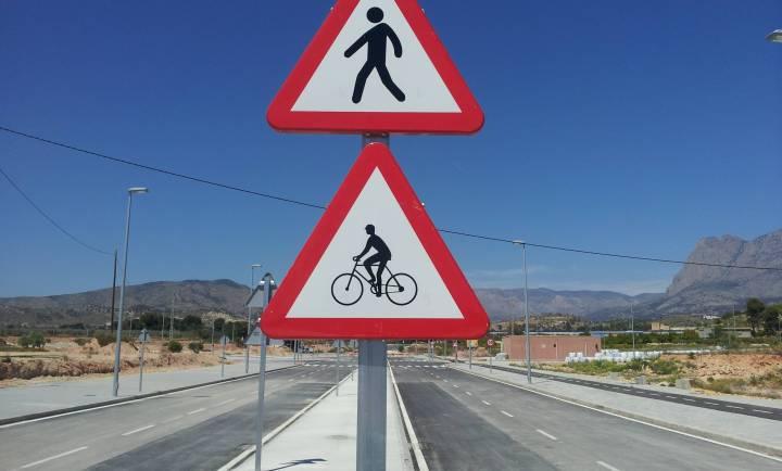 Acera bici villajoyosa