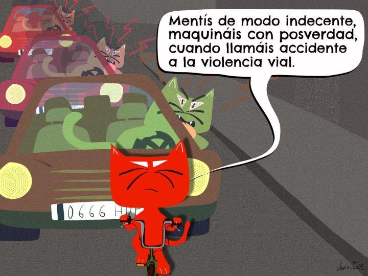 violencia vial @peraltez